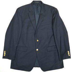 Lauren Ralph Lauren Suits & Blazers - Lauren Ralph Lauren Wool Blazer - Twill Navy Blue